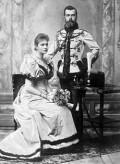 Цесаревич Николай Александрович и Александра Фёдоровна после помолвки, апрель 1894 г.